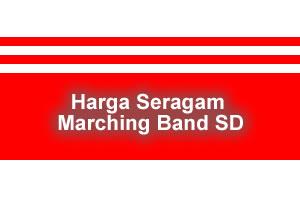 harga seragam marching band sd